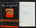 Books:Literature 1900-up, Harper Lee. To Kill a Mockingbird. HarperCollins, 1995.Thirty-fifth anniversary edition. Signed by the author. ...