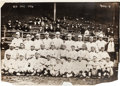 Baseball Collectibles:Photos, 1916 Boston Red Sox Team Photograph by Bain, PSA/DNA Type 1....