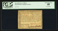Colonial Notes:Massachusetts, Massachusetts May 5, 1780 $3 Pen Cancelled PCGS Extremely Fine 40.....