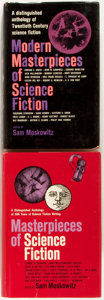 Books:Science Fiction & Fantasy, Sam Moskowitz, editor. INSCRIBED. Masterpieces of Science Fiction [and] Modern Masterpieces of Science Fiction. ... (Total: 2 Items)
