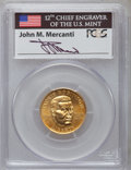 Modern Issues, 1997-W G$5 Jackie Robinson Gold Five Dollar MS69 PCGS. Ex:Signature of John M. Mercanti, 12th Chief Engraver of the U.S. M...