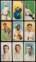 Baseball Cards:Lots, 1909-11 T206 and M116 Sporting Life Collection (18). ...