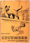 Books:Children's Books, Enid Colfer. Cucumber. The Story of a Siamese Cat.New York: Nelson, [1961]. Illustrated by Victor J. Dowling. P...
