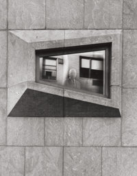 EZRA (ESTO) STOLLER (American, 1915-2004) Marcel Breuer, Architect in the Whitney Museum, 1967 Vinta