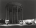 Photographs, GEORGE A. TICE (American, b. 1938). Petit's Mobil Station, Cherry Hill, N.J., 1974. Gelatin silver, 1980. 15-3/8 x 19-1/...