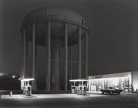 GEORGE A. TICE (American, b. 1938) Petit's Mobil Station, Cherry Hill, N.J., 1974 Gelatin silver, 19