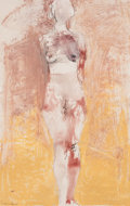 Post-War & Contemporary:Contemporary, MANUEL NERI (American, b. 1930). Untitled, #10 (Nude), 1995.Oil-paint stick, dry pigment and charcoal on paper. 41 x 26...