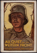 Books:Fiction, Erich Maria Remarque. All Quiet On the Western Front.Boston: Little, Brown, and Company, 1929. First edition....