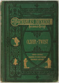 Books:Literature Pre-1900, Charles Dickens. The Adventures of Oliver Twist. Harper& Brothers Publishers, 1872. Part of The Works of Charle...