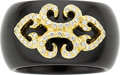 Estate Jewelry:Rings, Diamond, Black Onyx, Gold Ring, Henry Dunay. ...