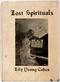 Books:Americana & American History, Lily Young Cohen. Lost Spirituals. New York: Walter Neale,1928. First edition. Octavo. With 36 illustrations & ...