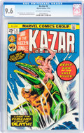 Bronze Age (1970-1979):Adventure, Ka-Zar (1974-77) #6 (Marvel, 1974) CGC NM+ 9.6 Off-white to white pages....