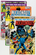Modern Age (1980-Present):Science Fiction, Micronauts Group (Marvel, 1978-84) Condition: Average FN/VF....(Total: 37 Comic Books)