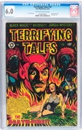 Golden Age (1938-1955):Horror, Terrifying Tales #13 (Star Publications, 1953) CGC FN 6.0 Off-whiteto white pages....
