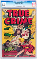 Golden Age (1938-1955):Crime, True Crime Comics #3 (Magazine Village, 1948) CGC VG 4.0 Light tan to off-white pages....