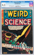 Golden Age (1938-1955):Science Fiction, Weird Science #5 (EC, 1951) CGC VG+ 4.5 Cream to off-whitepages....