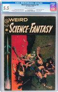 Golden Age (1938-1955):Science Fiction, Weird Science-Fantasy #29 (EC, 1955) CGC FN- 5.5 Cream to off-whitepages....