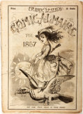 Books:Americana & American History, [Almanac] Frank Leslie's Comic Almanac for 1867. New York: Frank Leslie, [1967]. Illustrated. Publisher's origin...