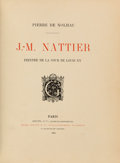 Books:Art & Architecture, Pierre de Nolhac. J.- M. Nattier: Peintre de la Cour de Louis XV. Paris: Goupil, 1905. First edition. From a priva...