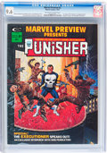 Magazines:Superhero, Marvel Preview #2 The Punisher (Marvel, 1975) CGC NM+ 9.6 Off-whiteto white pages....