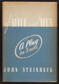 Books:Literature 1900-up, John Steinbeck. Of Mice and Men. New York: Covici Friede,[1937]. First edition, later state....