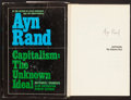 Books:Philosophy, Ayn Rand. Capitalism: The Unknown Ideal. The New AmericanLibrary, [1966]. First edition. Signed by Rand....