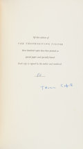 Books:Literature 1900-up, Truman Capote. A Thanksgiving Visitor. NY: [1967]. Firstedition, one of 300 copies signed. From a private col...