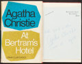Books:Mystery & Detective Fiction, Agatha Christie. At Bertram's Hotel With Signed Card.London: Published for the Crime Club by Collins, [...