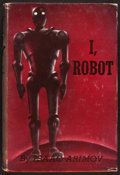 Books:Science Fiction & Fantasy, Isaac Asimov. I, Robot. New York: Gnome Press, [1950]. Firstedition....