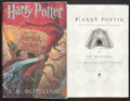 Books:Children's Books, J. K. Rowling. Harry Potter and the Chamber of Secrets. New York:Scholastic Press, [1999]. First American edition, first pr...