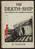 Books:Literature 1900-up, B. Traven. The Death Ship. London: Chatto & Windus,1934. First English edition of author's first book....