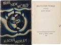 Books:Science Fiction & Fantasy, Aldous Huxley. Brave New World. London: Chatto & Windus,1932....