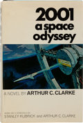 Books:Science Fiction & Fantasy, Arthur C. Clarke. 2001: A Space Odyssey. New York: NewAmerican Library, [1968]. First edition, first printing. ...