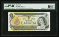 Canadian Currency: , BC-46a $1 1973 Solid Three Serial Number. ...