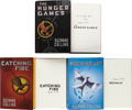 Books:Horror & Supernatural, Suzanne Collins. The Hunger Games Trilogy, including: TheHunger Games [and:] Catching F... (Total: 3 Items)