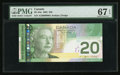 Canadian Currency: , BC-64a $20 2002 Serial Number One. ...