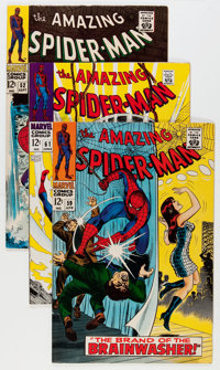 The Amazing Spider-Man #52-74 Group (Marvel, 1967-69) Condition: Average VF+.... (Total: 23 Comic Books)