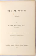 Books:Literature Pre-1900, Alfred Tennyson. The Princess: A Medley. London: Edward Moxon, 1860. Later edition. Octavo. Woodcut Illustrations th...