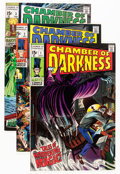 Silver Age (1956-1969):Horror, Chamber of Darkness #1-8 Complete Series Group (Marvel, 1969-70)Condition: Average VF.... (Total: 8 Comic Books)