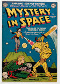 Golden Age (1938-1955):Science Fiction, Mystery in Space #8 (DC, 1952) Condition: FN/VF....