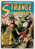 Golden Age (1938-1955):Science Fiction, Strange Worlds #3 (Avon, 1951) Condition: VG-....