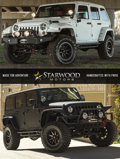 Miscellaneous:Ephemera, Starwood Motors Custom Jeep for the Weekend. Benefiting Park CitiesQuail...