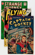 Golden Age (1938-1955):Science Fiction, Comic Books - Assorted Golden Age Science Fiction Comics Group(Various Publishers, 1950s) Condition: Average GD/VG.... (Total: 6Comic Books)
