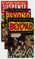 Golden Age (1938-1955):Horror, Comic Books - Assorted Golden Age Horror Comics Group (VariousPublishers, 1950s) Condition: Average VG/FN.... (Total: 4 ComicBooks)