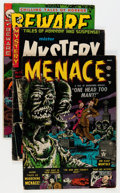 Golden Age (1938-1955):Horror, Comic Books - Assorted Golden Age Horror Comics Group (VariousPublishers, 1950s) Condition: Average GD+.... (Total: 10 ComicBooks)