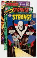 Silver Age (1956-1969):Science Fiction, Strange Adventures Group (DC, 1967-69) Condition: Average VF....(Total: 7 Comic Books)