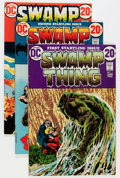 Bronze Age (1970-1979):Horror, Swamp Thing Group (DC, 1972-91) Condition: Average VF.... (Total:25 Comic Books)