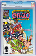 Modern Age (1980-Present):Humor, Groo the Wanderer #6 (Marvel, 1985) CGC NM/MT 9.8 White pages....
