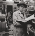 Photographs, DIANE ARBUS (American, 1923-1971). Boy Reading a Magazine, N.Y.C., 1956. Gelatin silver, printed later by Neil Selkirk. ...