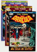 Bronze Age (1970-1979):Horror, Tomb of Dracula #2-9 Group (Marvel, 1972) Condition: Average VF....(Total: 8 Comic Books)